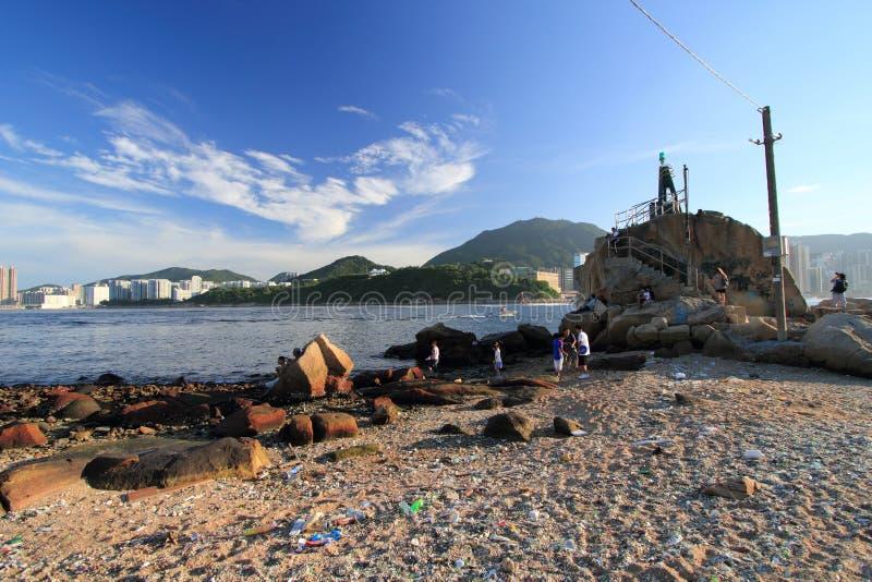 Village de pêche de mun de Yue de leu images stock