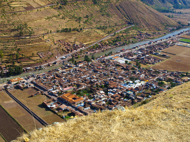 Village de Pisac images stock