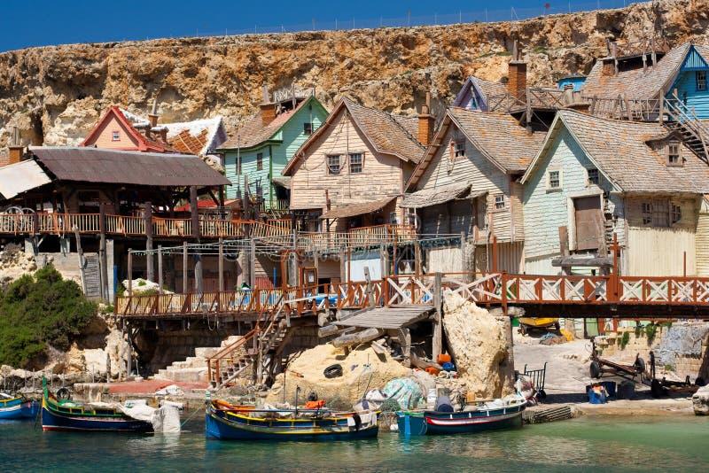 Village de Popeye image stock