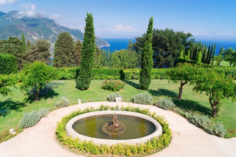 Village de Ravello, côte d'Amalfi de l'Italie images libres de droits