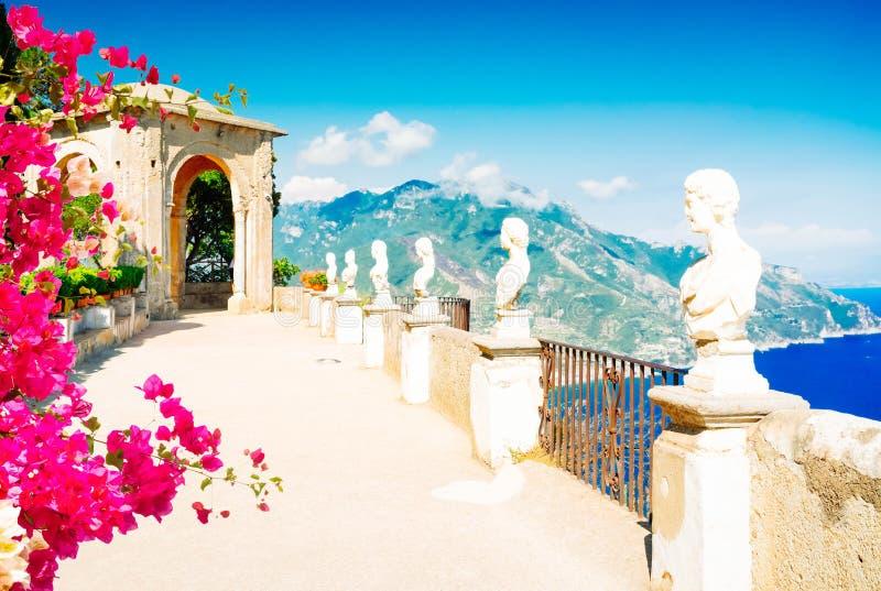 Village de Ravello, c?te d'Amalfi de l'Italie image libre de droits