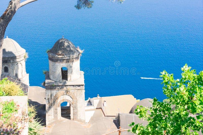 Village de Ravello, c?te d'Amalfi de l'Italie photos libres de droits