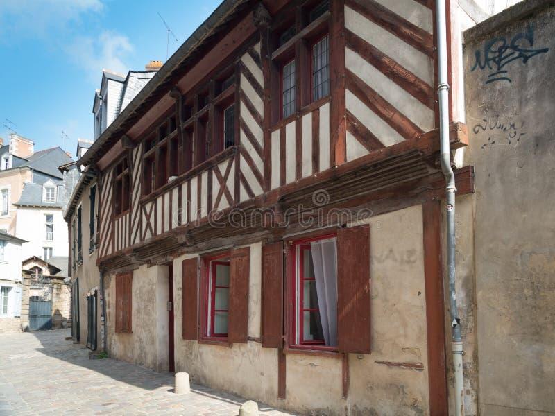Village de Rennes dedans photos libres de droits