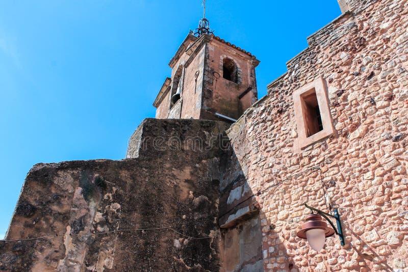Village de Roussillon, Provence et Luberon royalty free stock photo