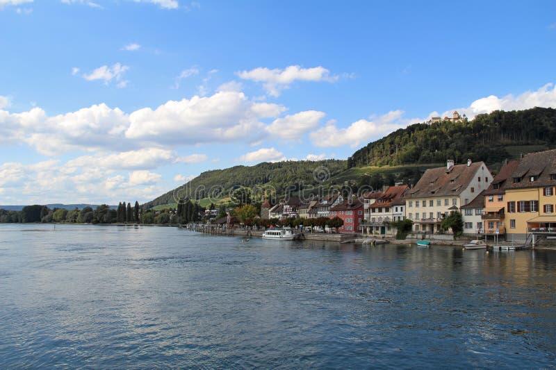 Village de Stein AM Rhein image stock