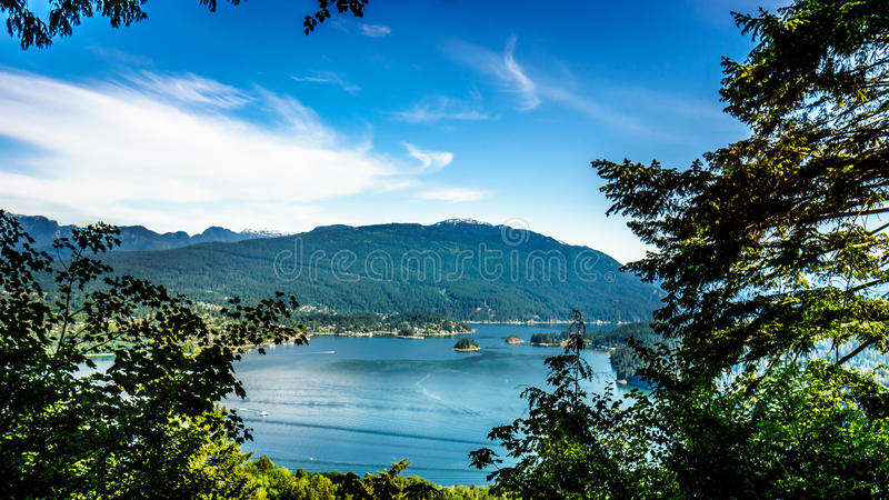 Download The Village Of Deep Cove On Shores Indian Arm Stock Image