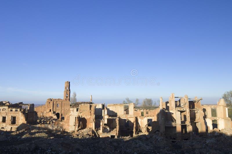 Download Village Demolished Belchite Stock Image - Image: 22761923