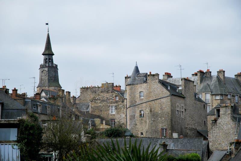 Village of Dinan in France
