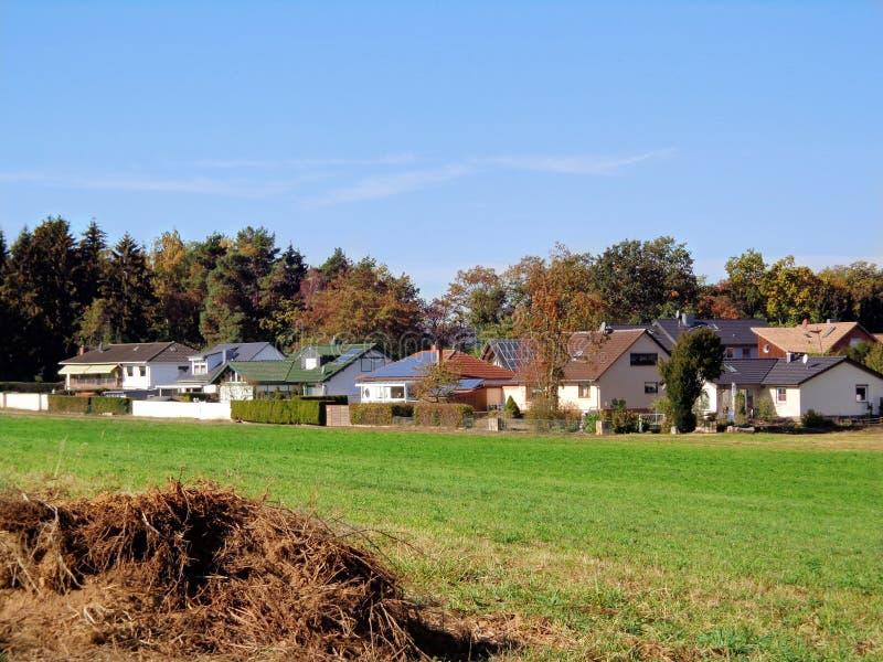 Village en Allemagne, très gentille images libres de droits