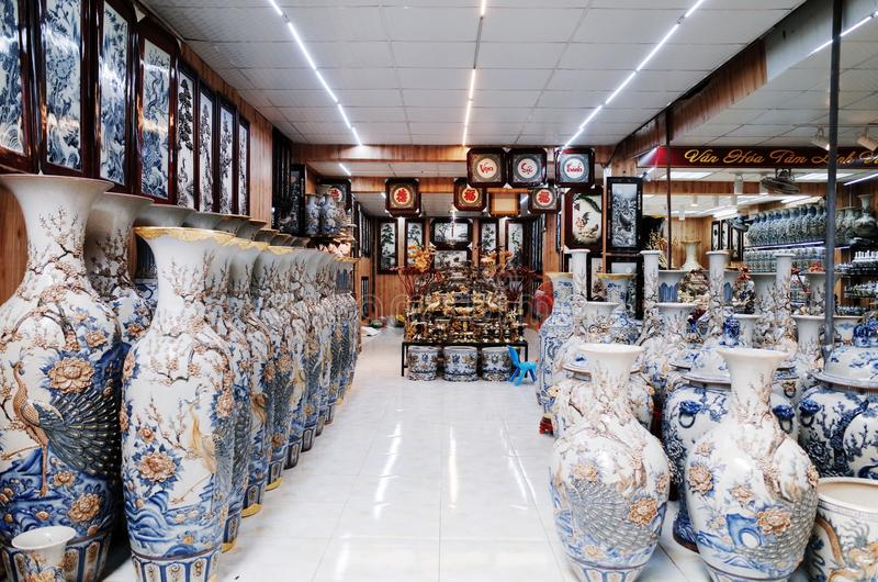 Village en céramique de Trang de batte images stock
