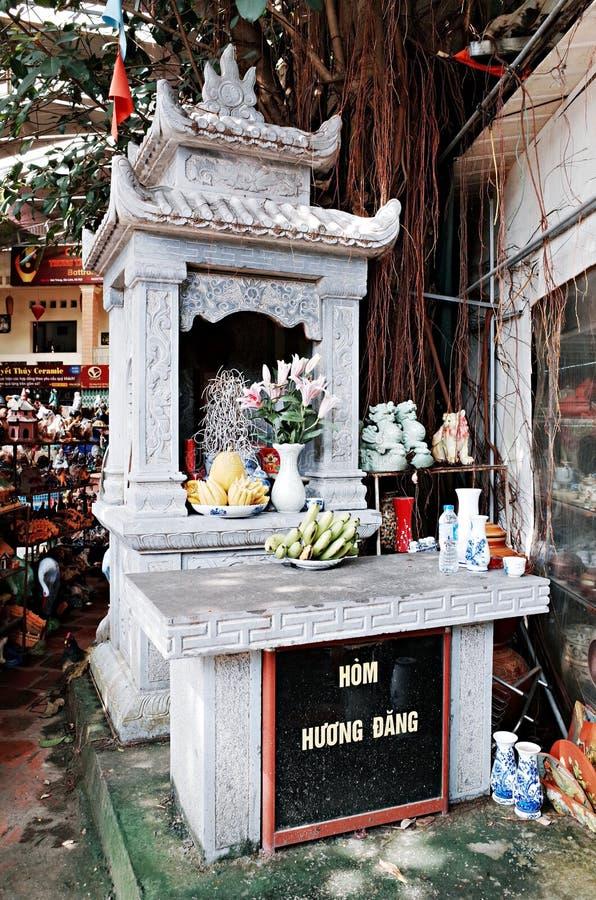 Village en céramique de Trang de batte photos stock
