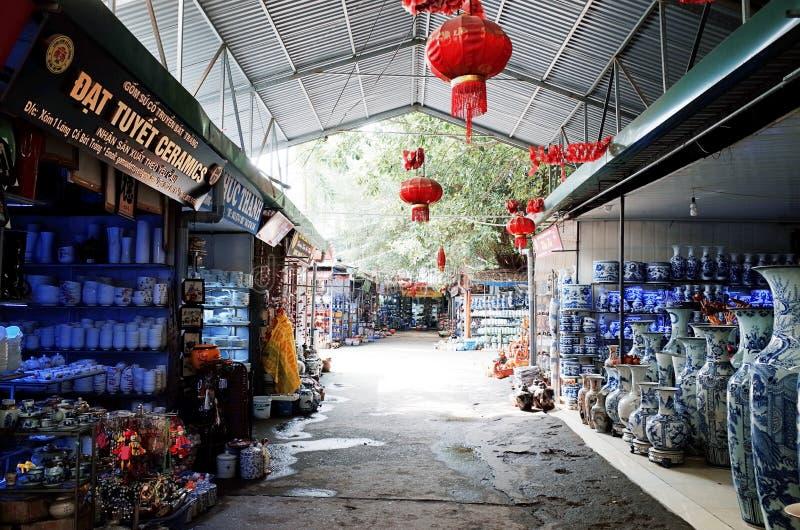 Village en céramique de Trang de batte image stock