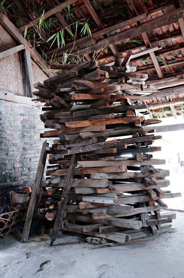 Village en céramique de Trang de batte photographie stock