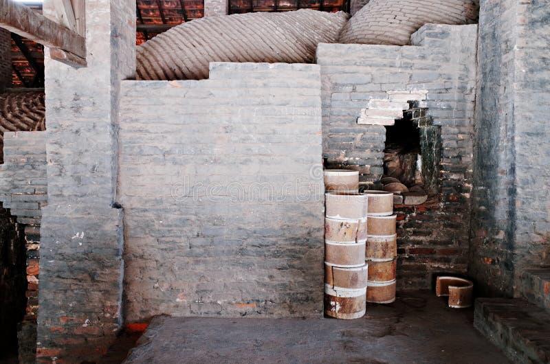 Village en céramique de Trang de batte photos libres de droits