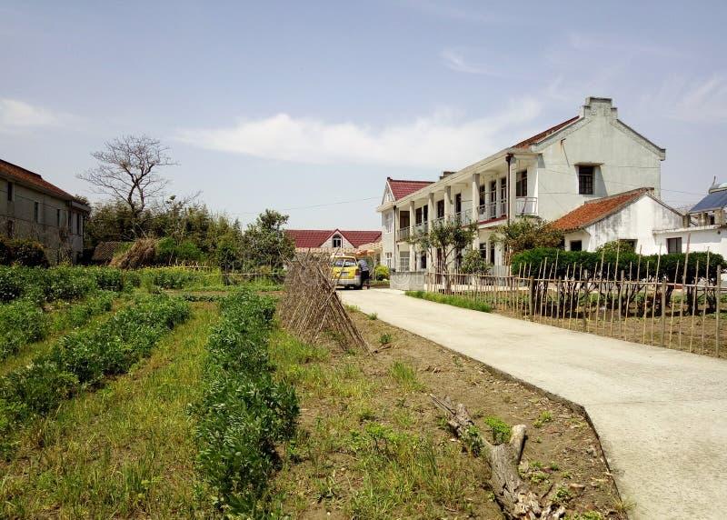 Village et ferme du sud chinois photo libre de droits