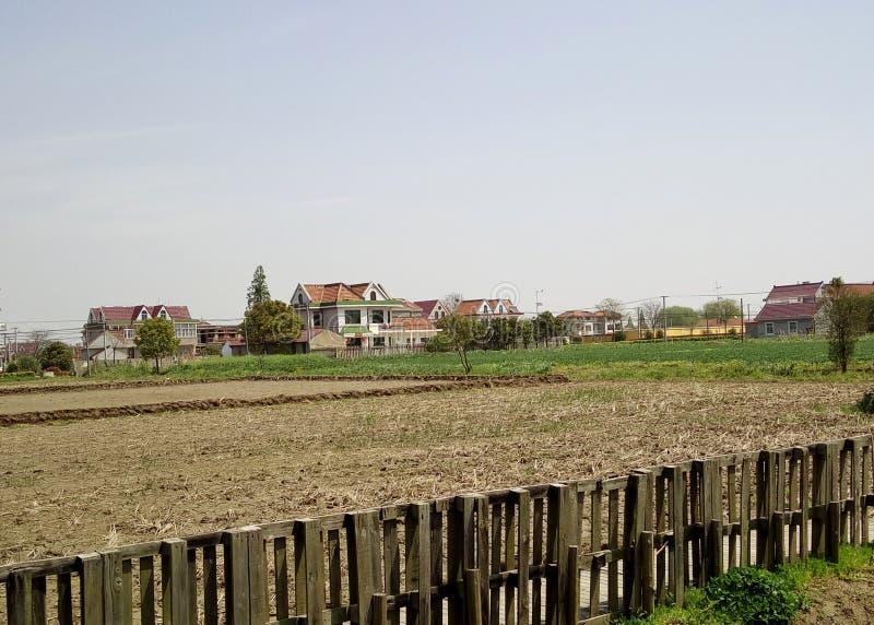 Village et ferme du sud chinois photographie stock libre de droits