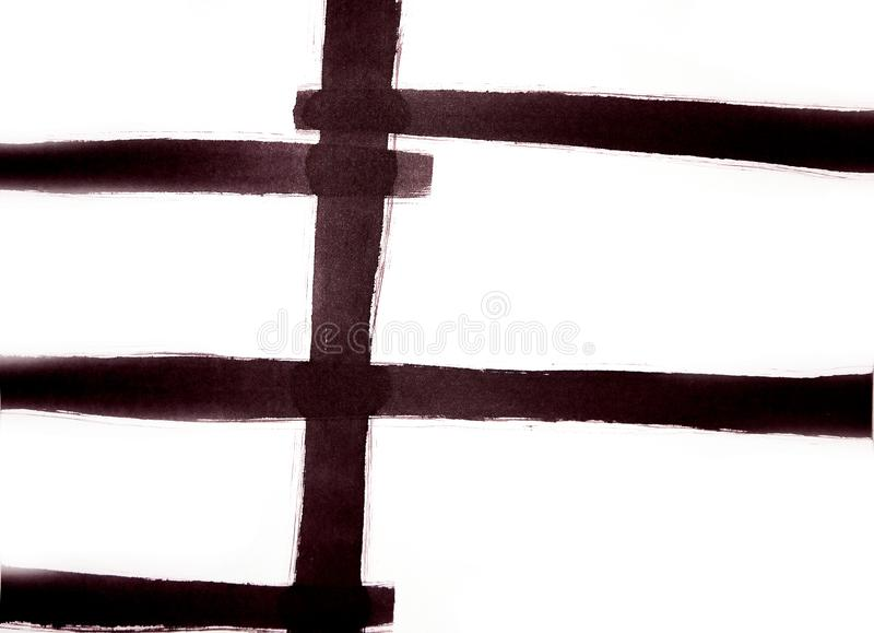Village fence, abstract representation of a comfort zone. Abstract graphics for decoration for wallpapers, poster, cover booklet, useful abstract graphics for stock photo