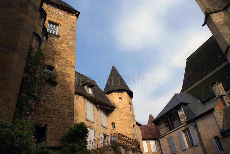 Village in France. Village in the south of France royalty free stock images