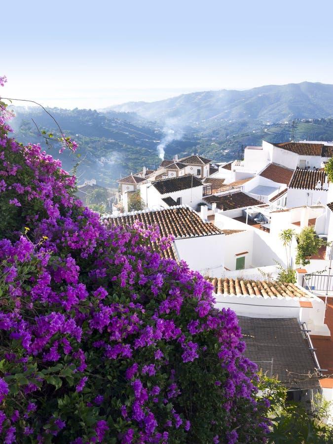 Village Of Frigiliana Spain Stock Images