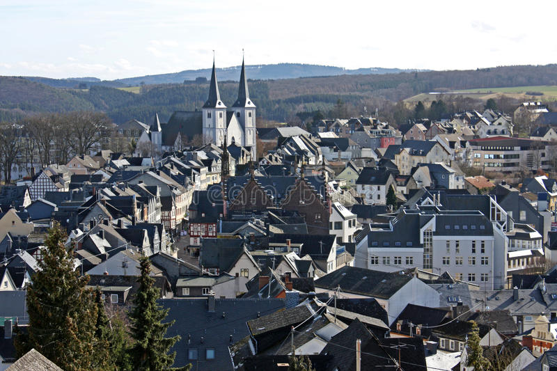 Village in Germany stock photography