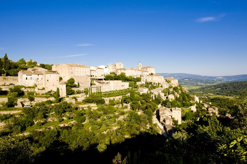 Download Village of Gordes stock image. Image of outdoors, provence - 14858653