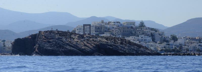 Download Village on Greek coastline stock photo. Image of dusk - 34497516