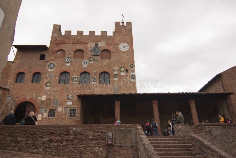Village historique de Certaldo Florence Tuscany Italy image stock
