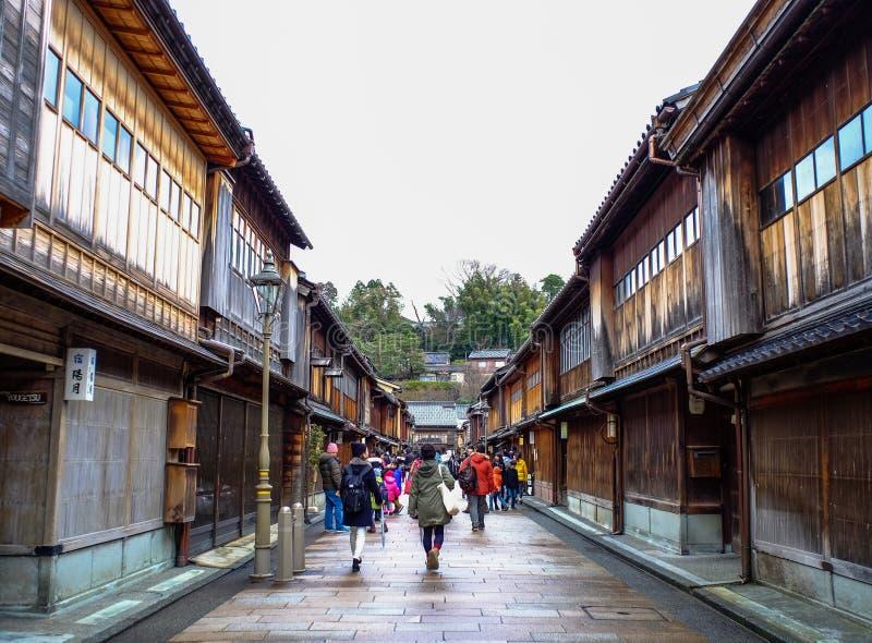 Village historique de Shirakawago à Gifu, Japon photos libres de droits