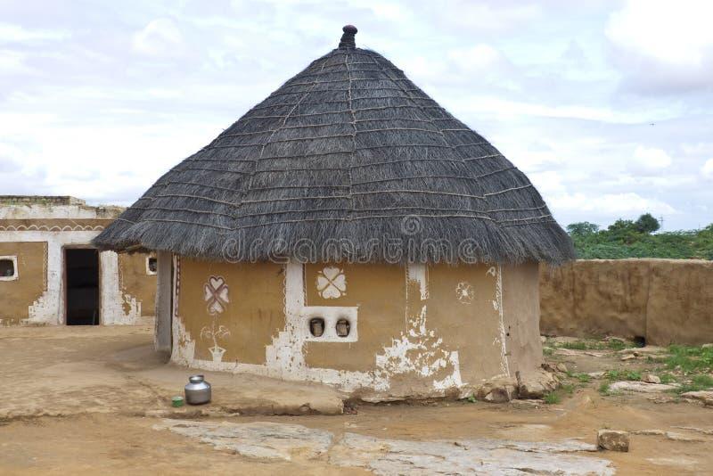 Village hut royalty free stock photography