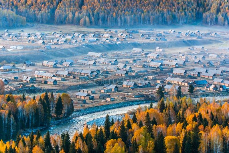 Village initial image libre de droits