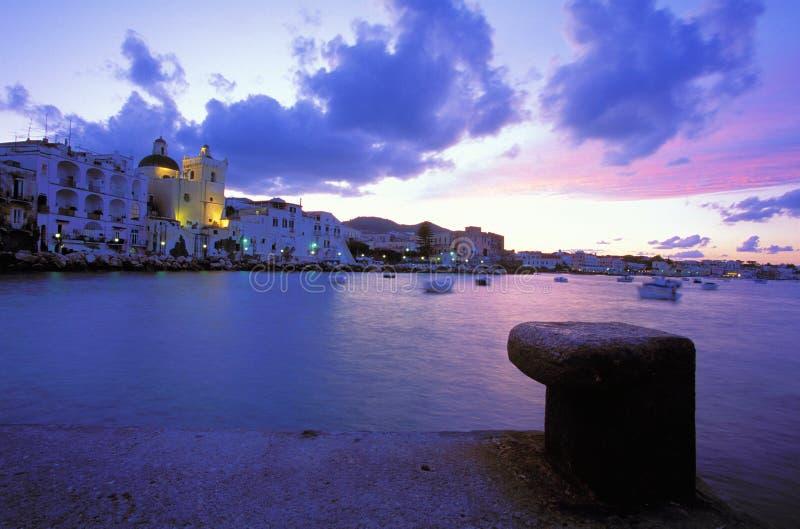Village Ischia Ponte royalty free stock image