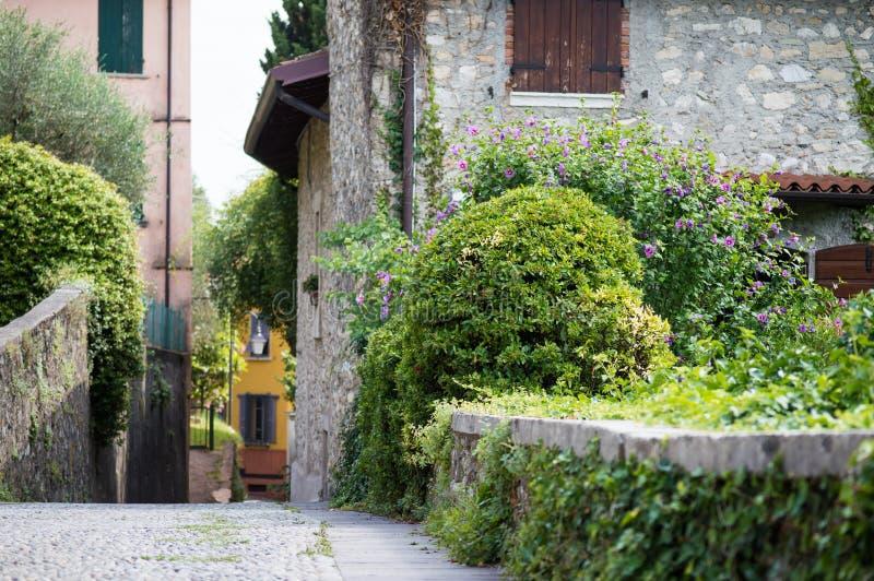 Village italien antique photos libres de droits