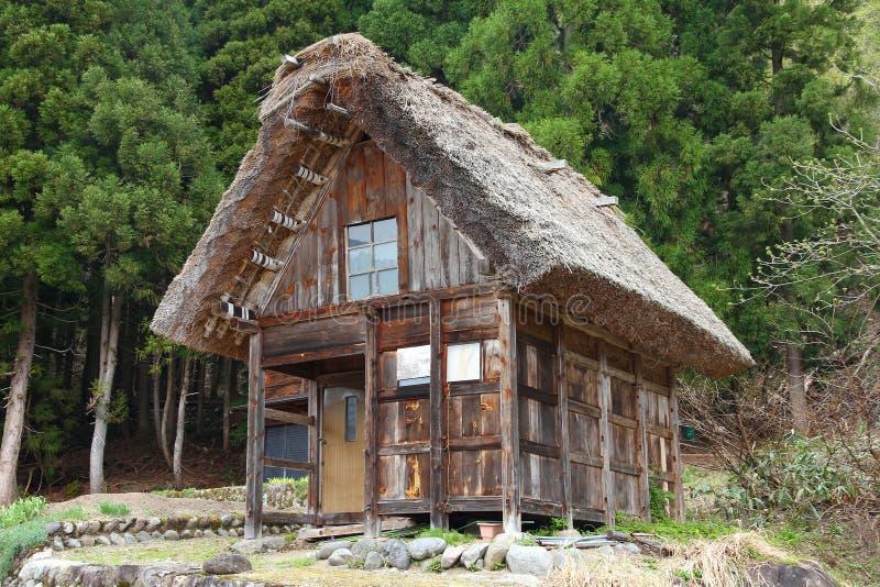 Village japonais photographie stock