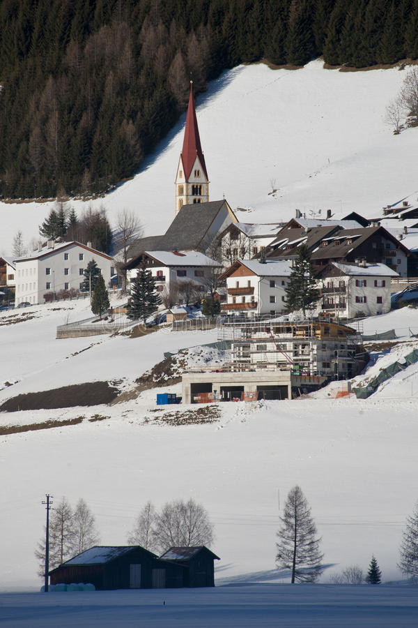 Download The village of kematen stock image. Image of winter, pfitsch - 28505011