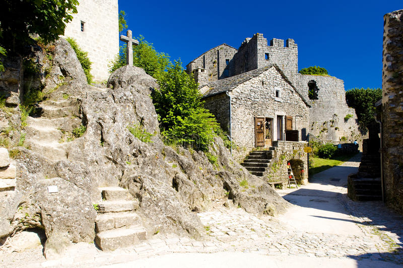 Download Village Of La Couvertoirade Stock Photo - Image: 14862036