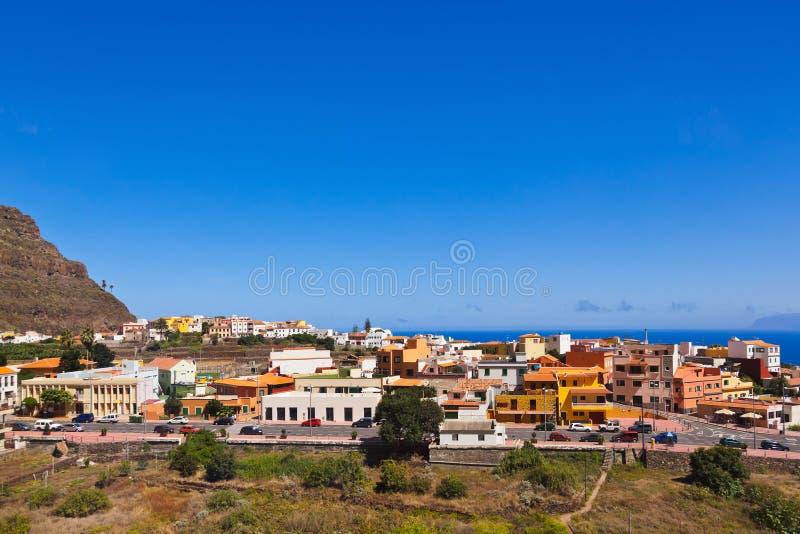 Village in La Gomera island - Canary. Spain royalty free stock photos