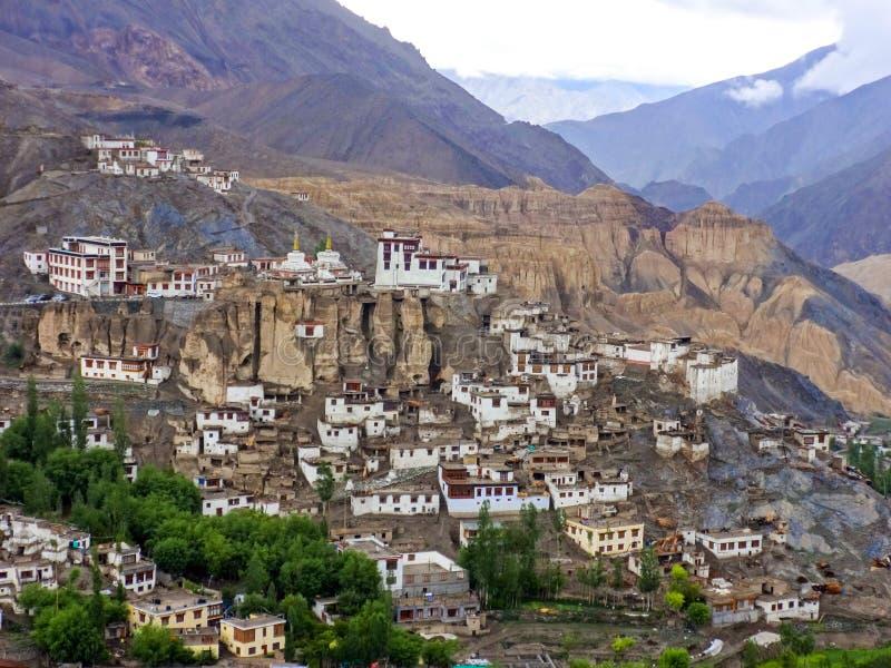 Yuru monastery in Lamayuru royalty free stock photography