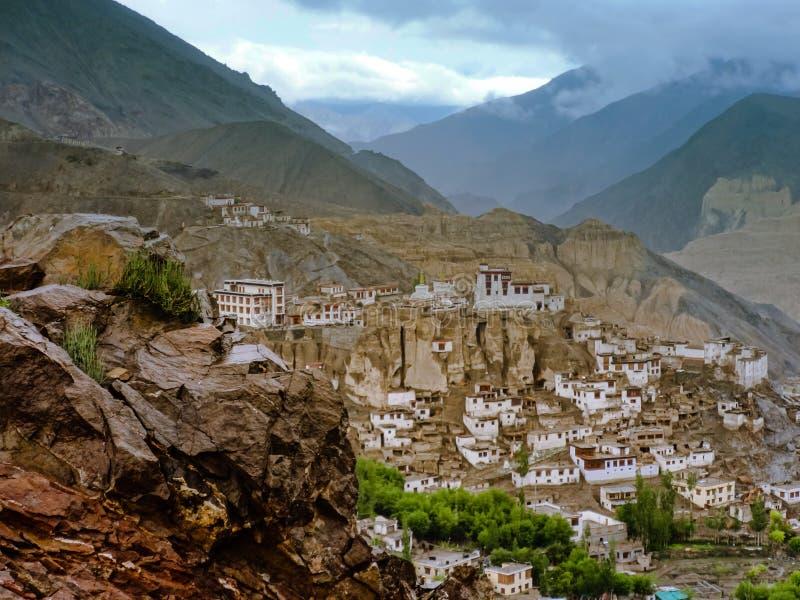 Yuru monastery in Lamayuru royalty free stock image