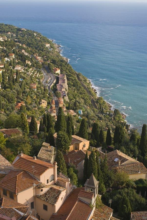 village méditerranéen image stock