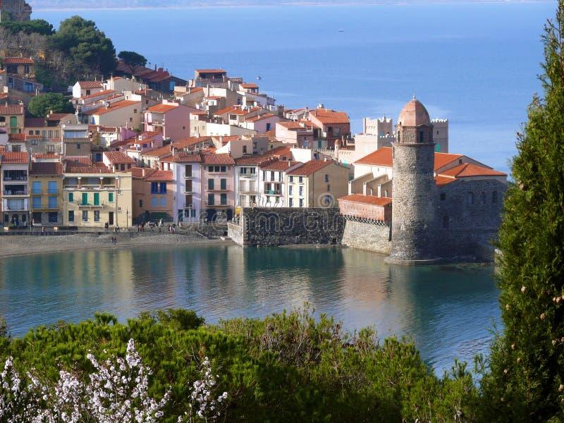 Village m diterran en de collioure image stock image du - Office du tourisme collioure ...