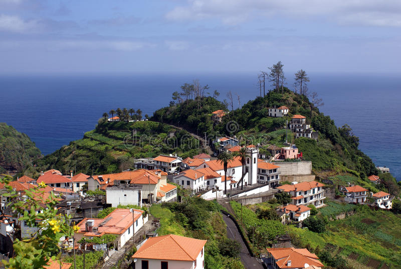 Village on Madeira royalty free stock images