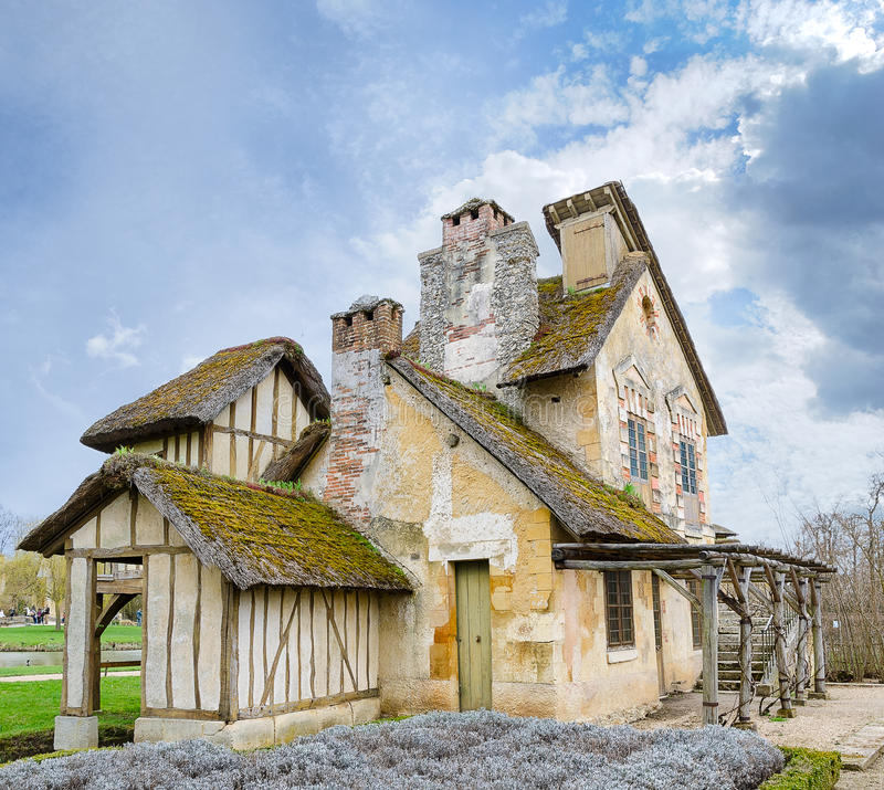 The Versailles Apartments: Village Of Marie Antoinette At Versailles Editorial Stock