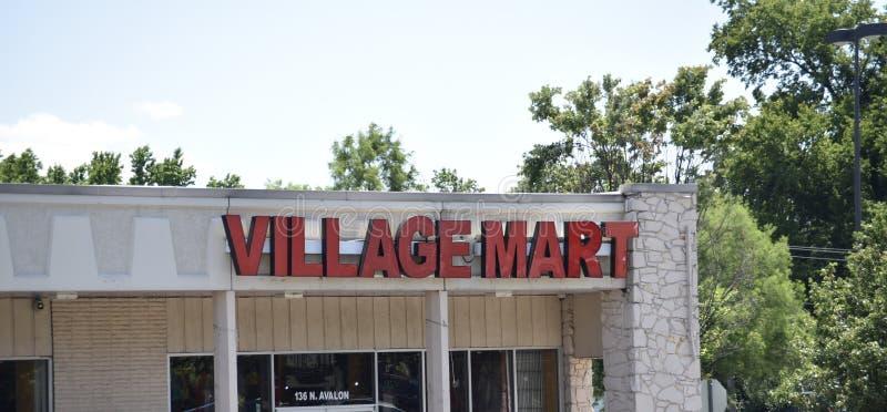 Village Mart Clothing Store, Memphis, TN photographie stock