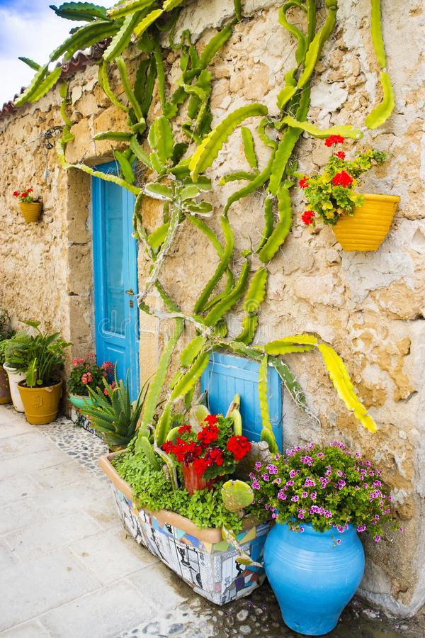 The village of Marzamemi. A small fishing village in Sicily Italy royalty free stock photos