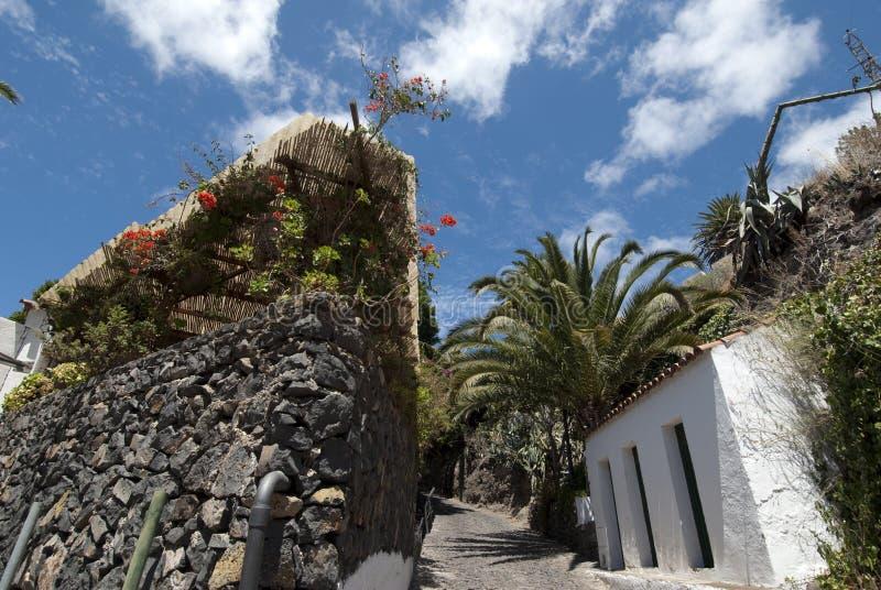 The village of Masca, Teneriffa royalty free stock photos