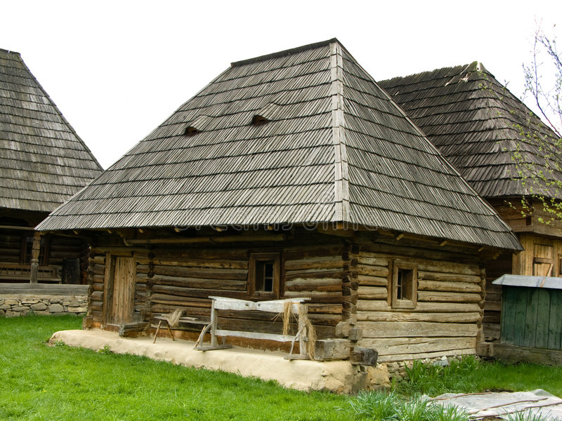 Village Museum of Maramures royalty free stock photography
