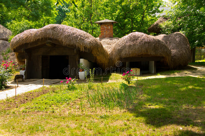 Village museum royalty free stock images