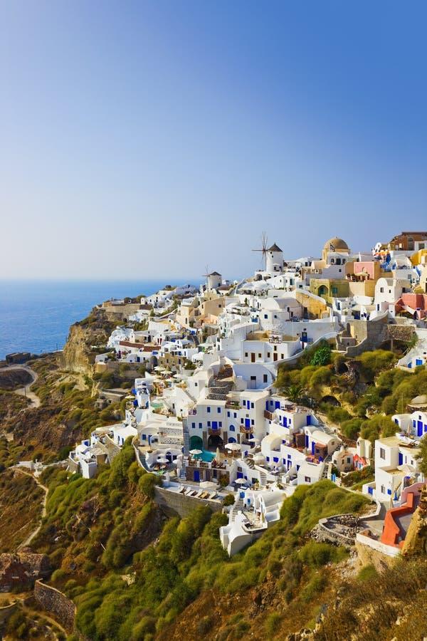 Download Village Oia At Santorini, Greece Stock Image - Image: 22872141