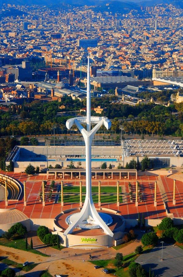 Village olympique à Barcelone photographie stock