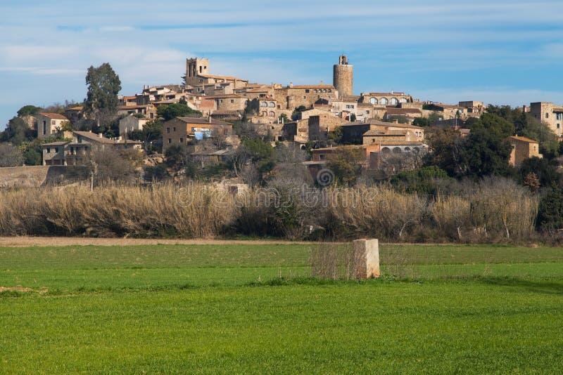 Village of Pals stock photo